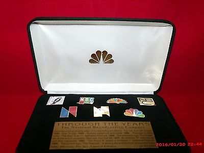 RARE - PROTOTYPE - NBC Through the Years Historic 7 Pin Set -Please read details