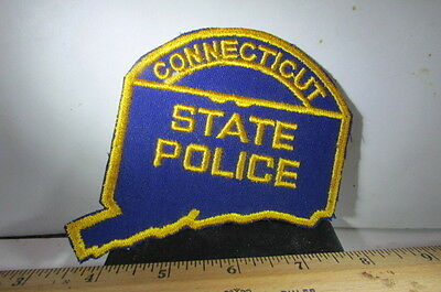 Vintage Police Patch-Connecticut State Police