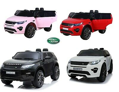 New 12V Range Rover Evoque Kids Electric Ride On Jeep Car Parental Remote