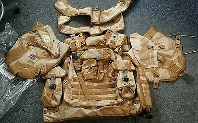NEW in Packet DPM British Army Osprey MK2 180/104 190/108 190/120 with Pouches