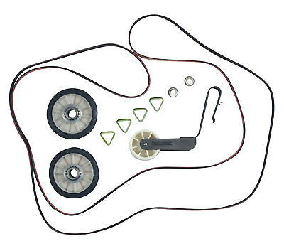 4392065 Dryer Belt Pulley Kit for Whirlpool Kenmore 341241 349241T 691366