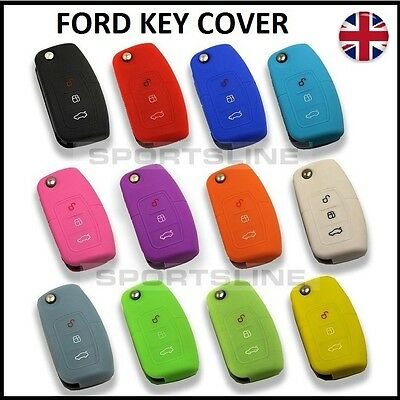 New Key Cover For Ford Case Remote Fob Protector Shell Bag Hull Skin Cap Car 43*