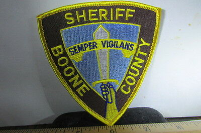 Vintage Police Patch Boone County Sheriff
