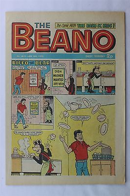The Beano #1613 June 16th 1973 Vintage Comic Dennis The Menace