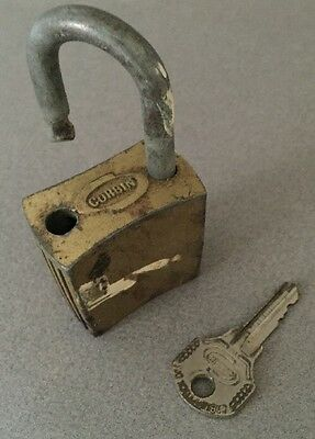 Corbin Cabinet Lock Co Padlock with Key