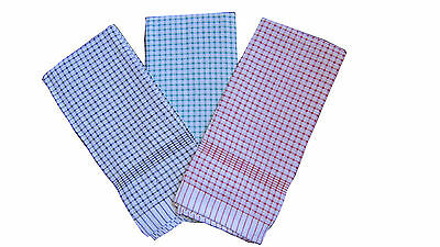 **NEW** LARGE 12PCS 100% Cotton Heavy Duty Tea Towels - 60 x 90cm