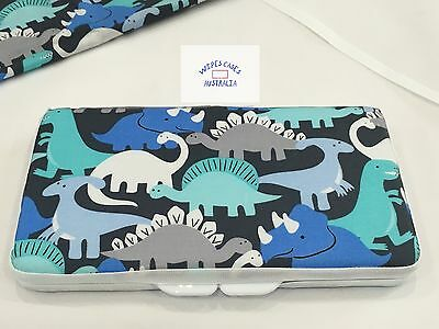 Blue Dinosaur Baby Wipes Case - Perfect Gift For Baby Shower