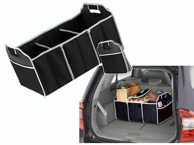2in1 Collapsible Car Boot Organiser Foldable Shopping Tidy Storage Picnic Basket
