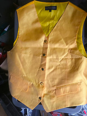 Equetech Gold Show Waistcoat Large
