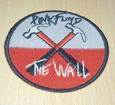1xnew Pink Floyd Music Rock Logo Symbol Embroidered Iron On Patch