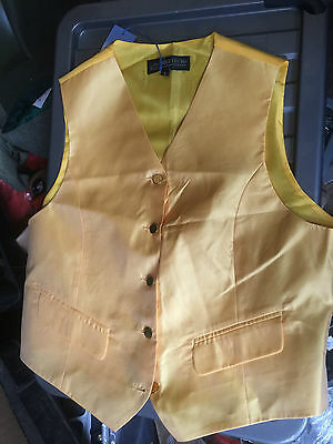 Equetech Gold Show Waistcoat Small