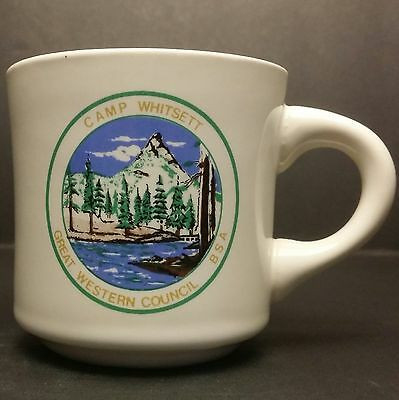 Vintage Boy Scouts of America - Camp Whitsett Great Western Council BSA Mug