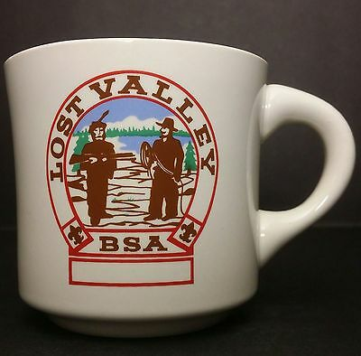 Vintage Boy Scouts of America - Lost Valley BSA Mug - Likely From Late 70s - 80s