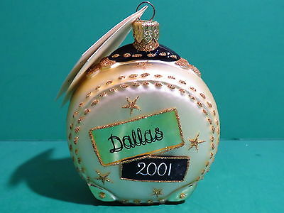 Patricia Breen Journey With Me Ornament- Signed - Neiman Marcus/Dallas Exclusive