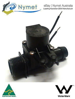 """Micro Irrigation Solenoid Valve 3/4""""BSP in - 19mm Barb out 24VAC 20LPM"""