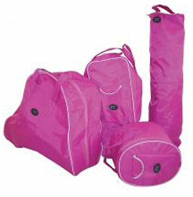 Horse Gear Tack Protection Kit 4 Piece - PINK