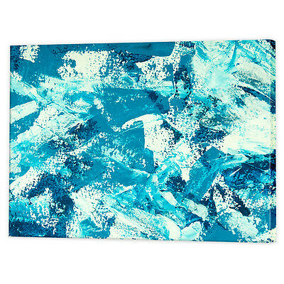 Abstract Ocean Canvas Art Print   Framed Ready to Hang Seascape Wall Prints