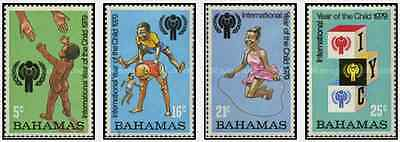 Timbres Enfance Bahamas 434/7 ** lot 13885