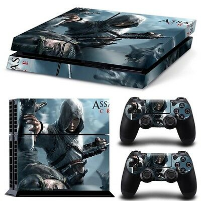 SKIN PS4 Assassins Creed + 2 Controller Sticker Playstation 4