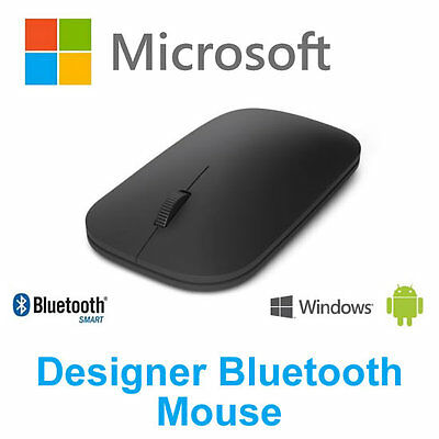 Microsoft Designer Bluetooth 4.0 Mouse Ultra-Thin Wireless for Laptop Tablet PC