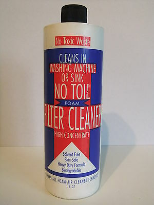 No Toil Filter Cleaner, Reiniger, MX, Enduro,  KTM, Husqvarna, RM, YZ, KX,CR