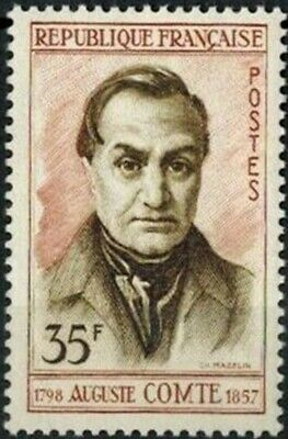 1957//TIMBRE FRANCE NEUF**Auguste - Comte -Philosophe**STAMP.Y/T 1121