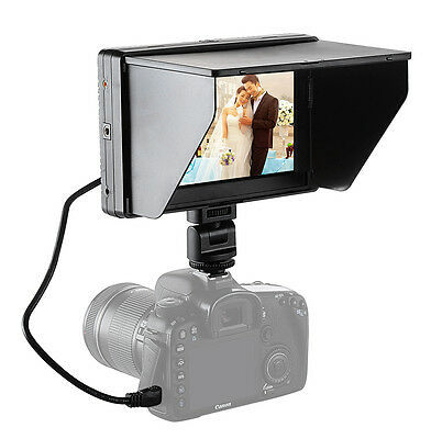 Mcoplus 7'' DC-70II Clip-on Color TFT HD LCD video Monitor Display HDMI Viltrox