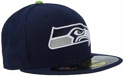 c1a871d821a New Era 59FIFTY NFL On Field Seattle Seahawks Adult Fitted Baseball Cap