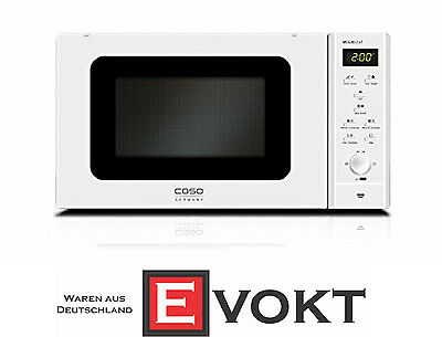 Caso MCG 30 3382 Chef Pure White Microwave With Convection & Grill Genuine NEW