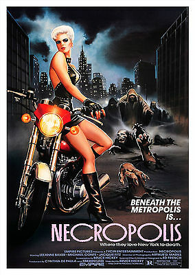 Necropolis (1986) - A1/A2 POSTER **BUY ANY 2 AND GET 1 FREE OFFER**