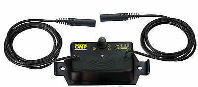 OMP B-Race Intercom Control Box JA/874 Race Rally Motorsport
