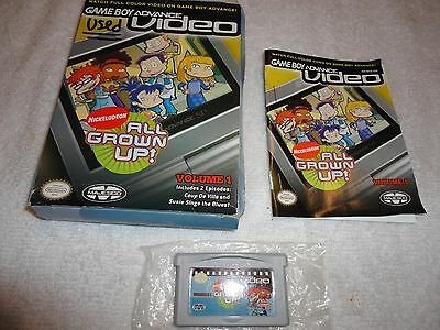 All Grown Up Volume 1 Nintendo Game Boy Advance Complete w/ Box and Instructions