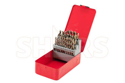 Shars 26 Pcs HSS A -Z Jobber Drill Set With Metal Index Box New $14.50 Off