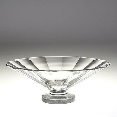 Richard Jungell For Karhula Glass Footed Bowl