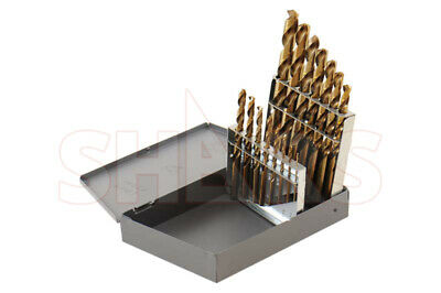 "15 Pcs M35 1/16"" ~ 1/2"" Jobber Drill set With Hout Metal Index Box  $25.85 Off"