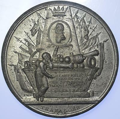 England - 1805 Death of Lord Nelson medal by Wyon