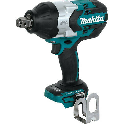 "Makita 18V LXT Brushless 3/4"" Square Drive Impact Wrench (Tool Only) XWT07Z New"