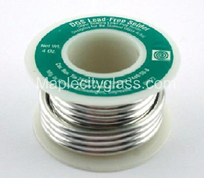 Stained Glass Supplies Canfield Lead Free Solder 1/4lb Contains Silver - Jewelry