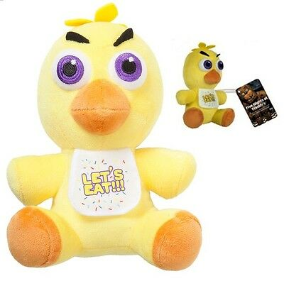 Five Nights at Freddy's 6-Inch Plush CHICA by Funko with Tag FNAF
