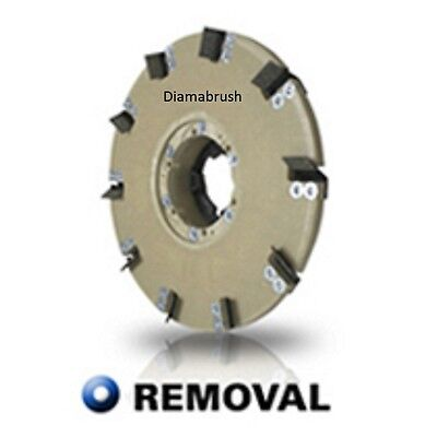 "Diamabrush 19"" Concrete Coating Removal Tool 25 Grit"