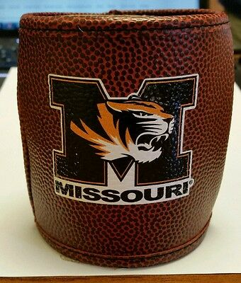 Licensed Missouri Tigers Insulated Football Can Cooler Coozie Free Shipping