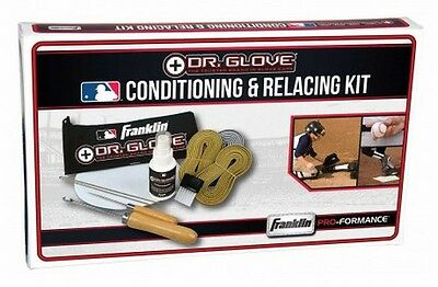 Franklin Sports MLB DR To Optimal Condition Glove Conditioning & Relacing Kit
