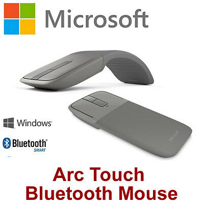 Microsoft Arc Touch Bluetooth Mouse 7MP-00016 Ultra portable for Laptop Tablet