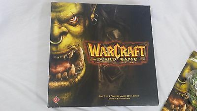 Warcraft the Board Game Blizzard Fantasy Flight Used 99% Complete 2004