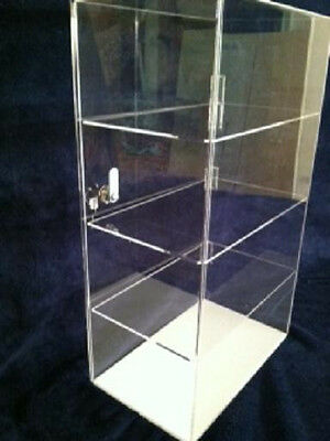 Acrylic Display Case  12 x 7 x 20.5 (different spacing) Showcase