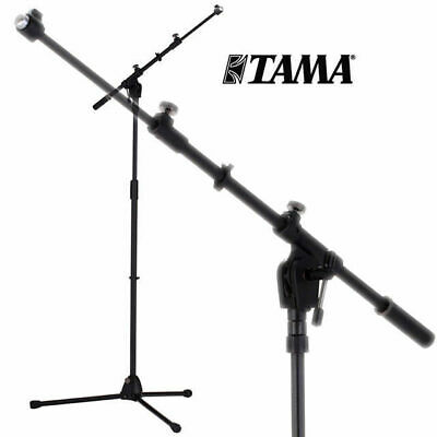 Tama MS436BK Iron Works Tour Black Boom Microphone Stand Telescopic Professional