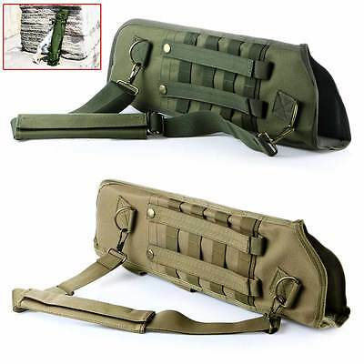 Adjustable Military Tactical Shoulder Rifle Pouch Gun Holster Magazine Pouch Bag