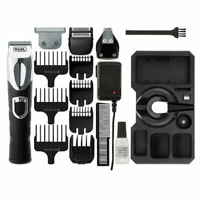 Wahl Men's Electric Rechargeable Hair Beard Body Clipper Trimmer Shaver New