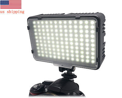 US Mcoplus Video LED Light Camera Comcorder Lamp for Canon Nikon Sony as CN-126