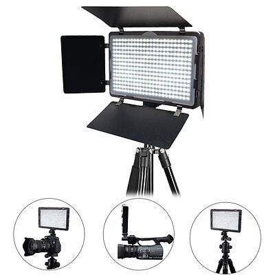 Mcoplus LED -340A CRI95 Ultra-thin  Video LED Light for DSLR Camcorder Cameras